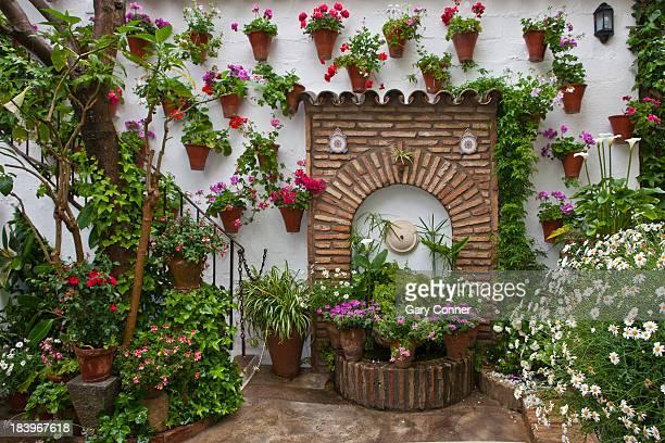 cordoba patio festival - スペイン コルドバ市 ストックフォトと画像