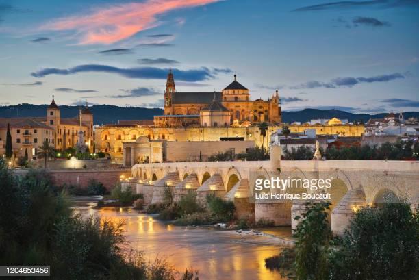 cordoba & sunset - スペイン コルドバ市 ストックフォトと画像
