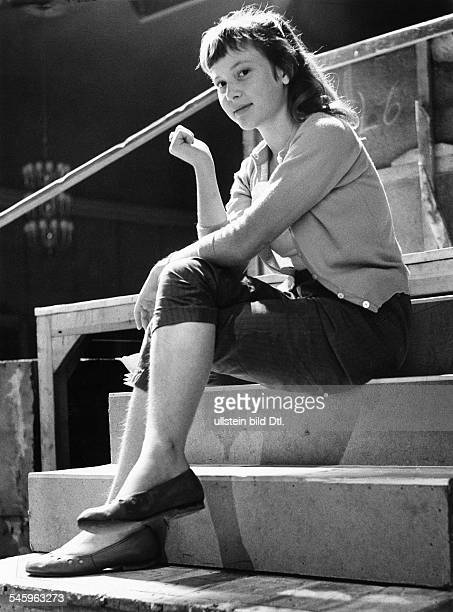 Cordula Trantow *Actress director GermanyPortrait as a young girl 1957
