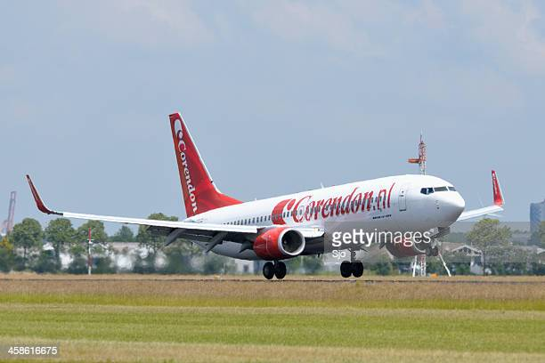 Corendon airlines plane taking off