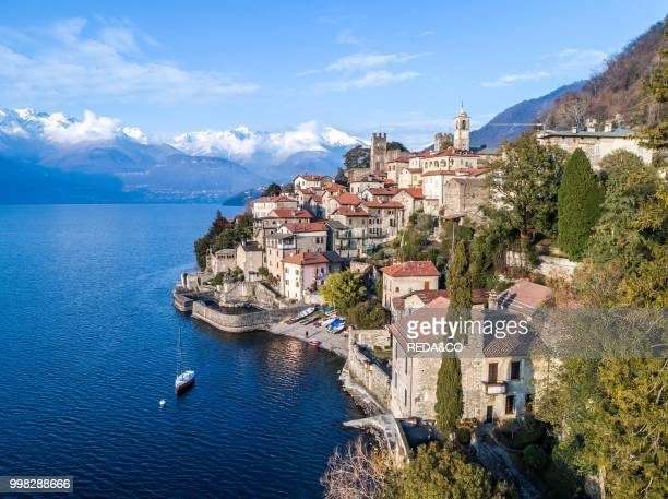 Corenno Plinio village western coast of Lake Como Lombardia Italy Europe Photo by Carlo Borlenghi/REDACO/Universal Images Group via Getty Images