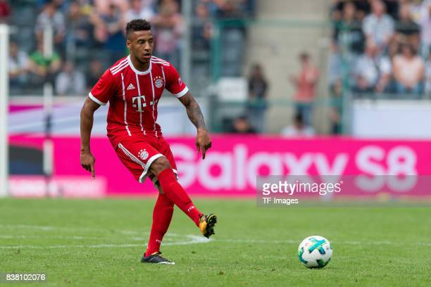 Corentin Tolisso of Bayern Muenchen controls the ball during the Telekom Cup 2017 Final between SV Werder Bremen and FC Bayern Muenchen at Borussia...