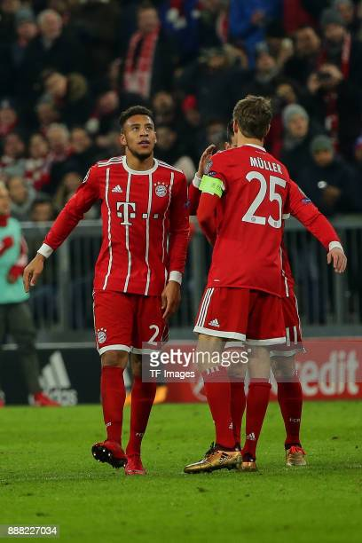 Corentin Tolisso of Bayern Muenchen looks on during the UEFA Champions League group B match between Bayern Muenchen and Paris SaintGermain at Allianz...