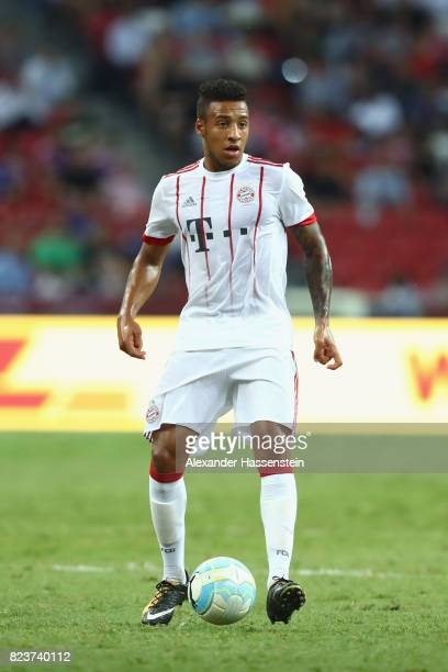 Corentin Tolisso of Bayern Muenchen runs with the ball during the International Champions Cup 2017 match between Bayern Muenchen and Inter Milan at...