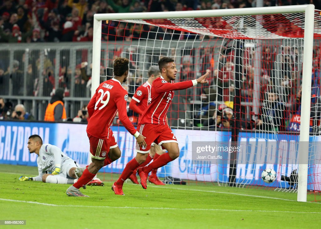 Bayern Muenchen v Paris Saint-Germain - UEFA Champions League