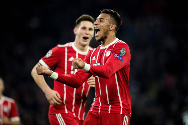 Seconda Maglia FC Bayern München Corentin Tolisso
