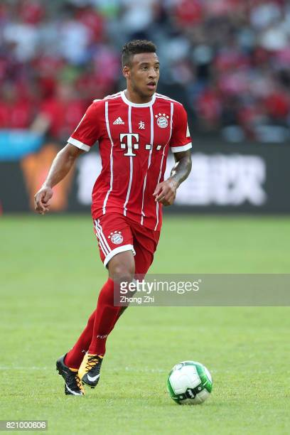 Corentin Tolisso of FC Bayern Muenchen in action during the 2017 International Champions Cup football match between AC Milan and FC Bayern Muenchen...