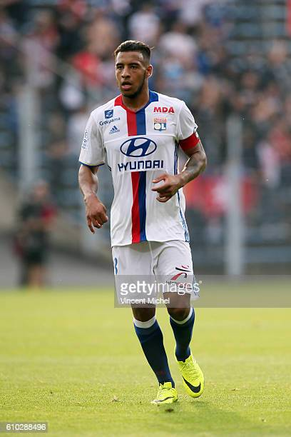 Corentin Tolisso of Lyon during the Ligue 1 match between FC Lorient and Olympique Lyonnais at Stade du Moustoir on September 24 2016 in Lorient...