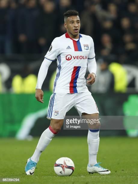 Corentin Tolisso of Olympique Lyonnaisduring the UEFA Europa League semi final match between Olympique Lyonnais and Ajax Amsterdam at Stade de Lyon...