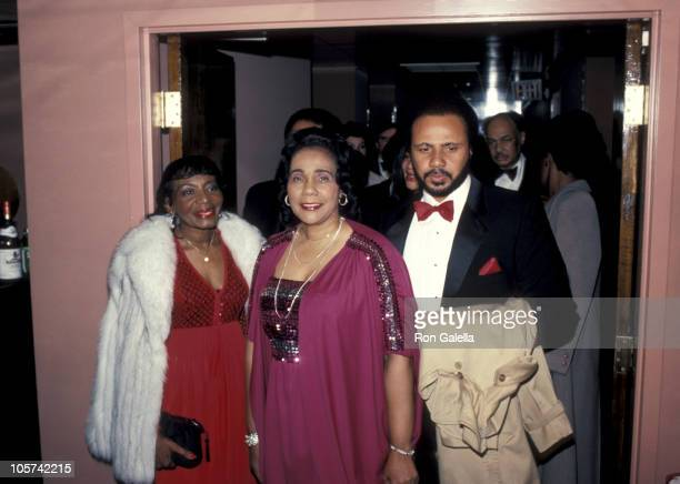 Coretta Scott King and Martin Luther King III during Taping of 'Martin Luther King Jr A Celebration of Life' at Kennedy Center in Washington DC...