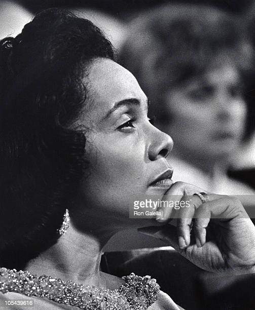 Coretta Scott King during 12th Annual Primetime Emmy Awards at Carnegie Hall in New York City New York United States