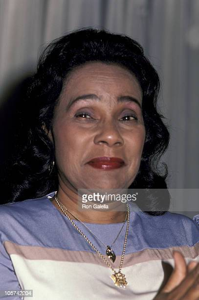 Coretta Scott King during Americans for Democratic Action RooseveltHumphrey Dinner June 16 1983 at Waldorf Astoria Hotel in New York City New York...