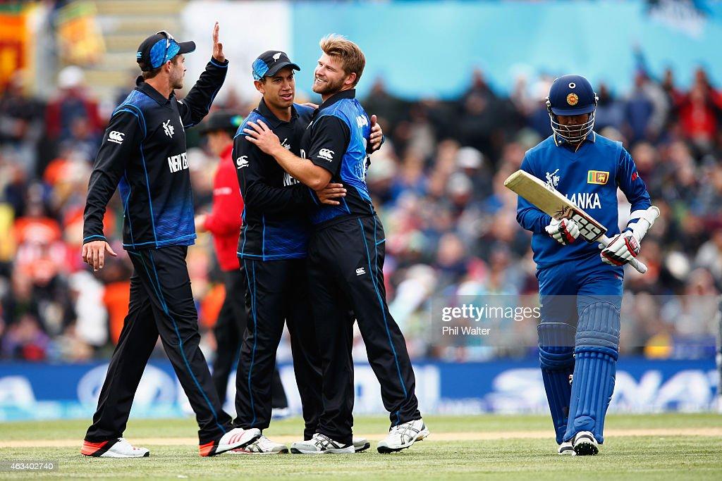 Sri Lanka v New Zealand -  2015 ICC Cricket World Cup
