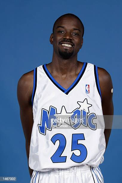 Corey Benjamin of the Orlando Magic poses for a portrait during Media Day on September 30 2002 at TD Waterhouse Centre in Orlando Florida NOTE TO...