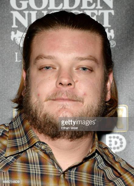 """Corey """"Big Hoss"""" Harrison arrives at the opening of """"Pawn Shop Live!,"""" a parody of History's """"Pawn Stars"""" television series, at the Golden Nugget..."""