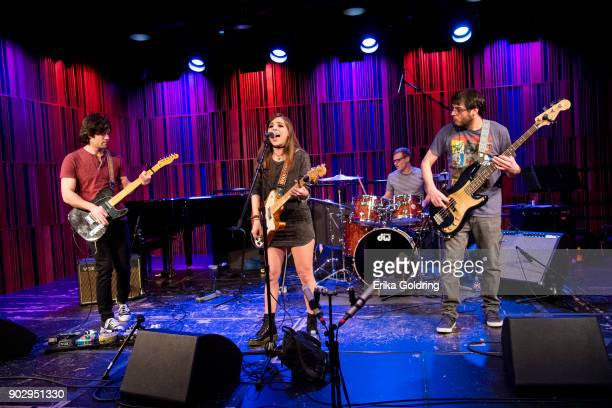 Corey Bissell Amanda Tamaccio Anthony Tamaccio and Christopher Tamaccio of the band Star Chamber perform during The Recording Academy Memphis Chapter...