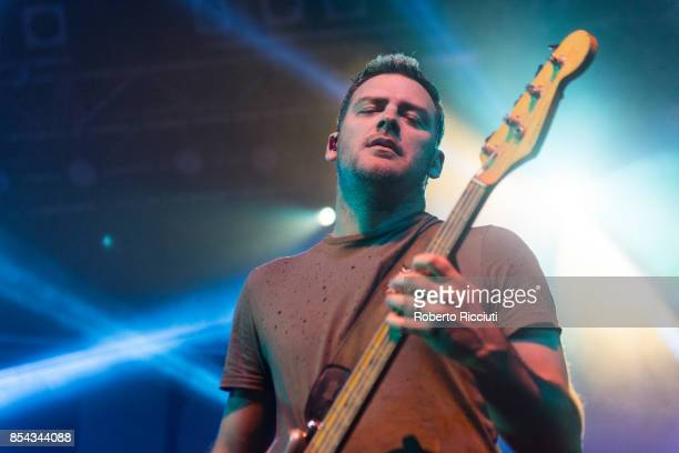 Corey Britz of British rock band Bush performs on stage at O2 ABC Glasgow on September 26 2017 in Glasgow Scotland