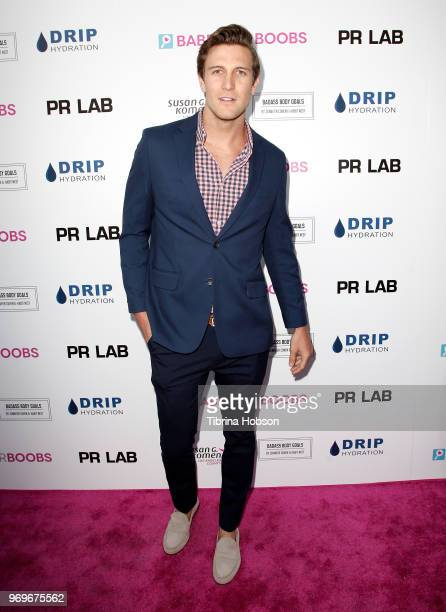 Corey Brooks attends the Babes for Boobs live auction benefiting Susan G Komen LA at El Rey Theatre on June 7 2018 in Los Angeles California