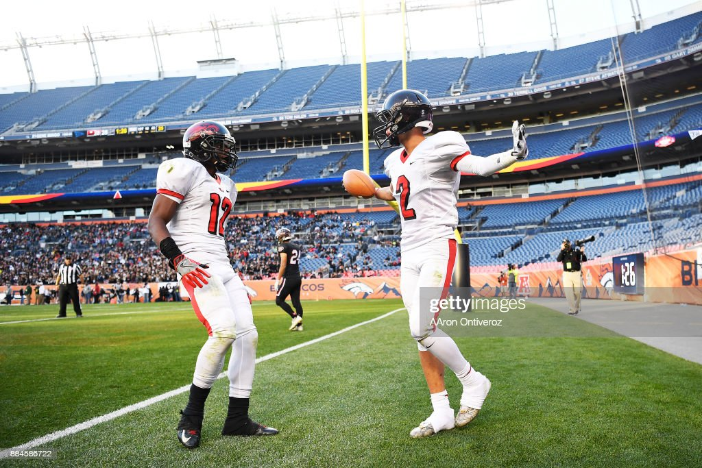 5a Colorado State High School Football Championship Game Pictures