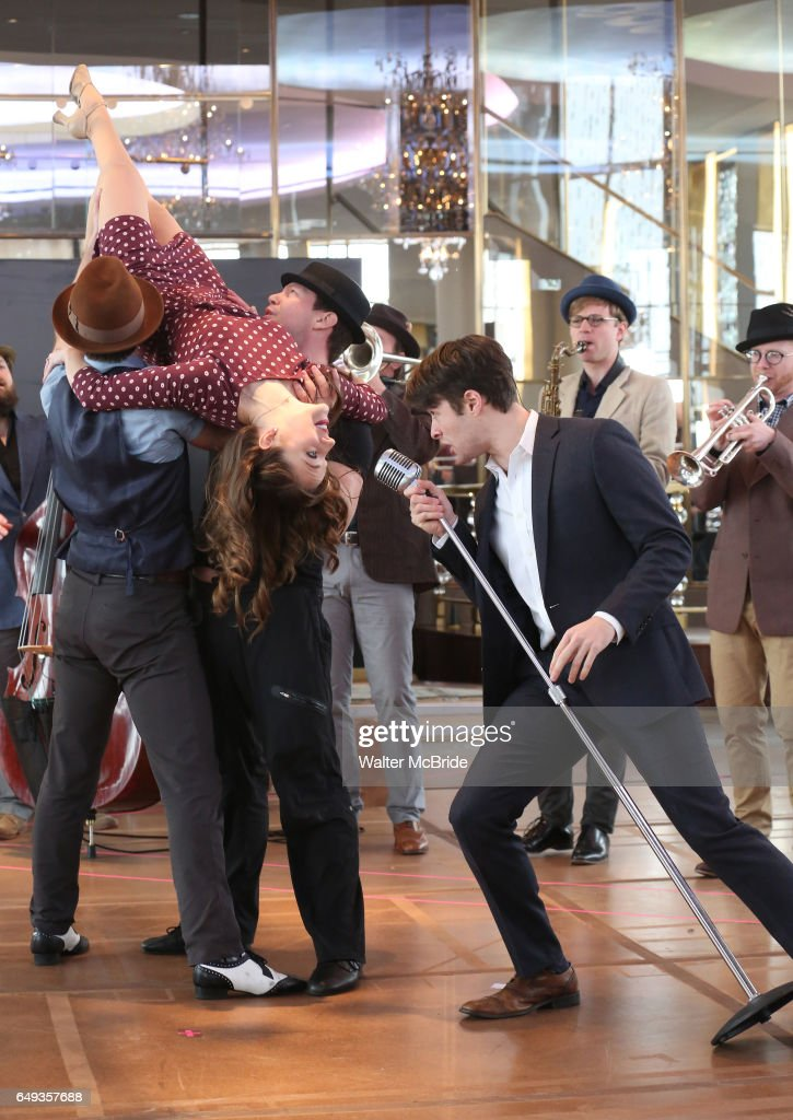 """Bandstand"" Broadway Cast Photocall"