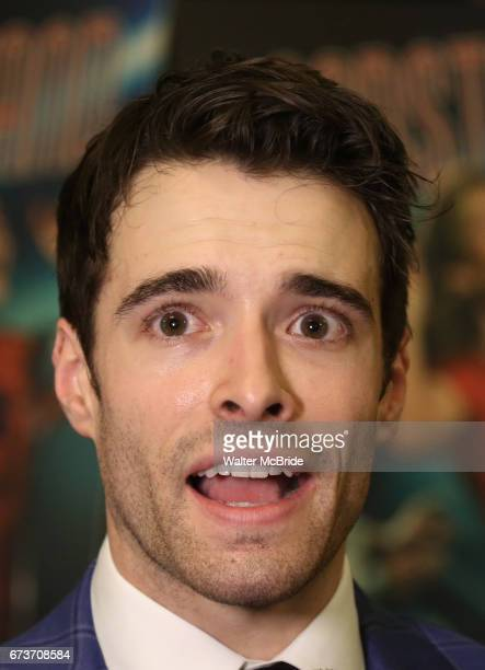 Corey Cott attends the Broadway Opening Night After Party of 'Bandstand' at the Edison Ballroom on 4/26/2017 in New York City