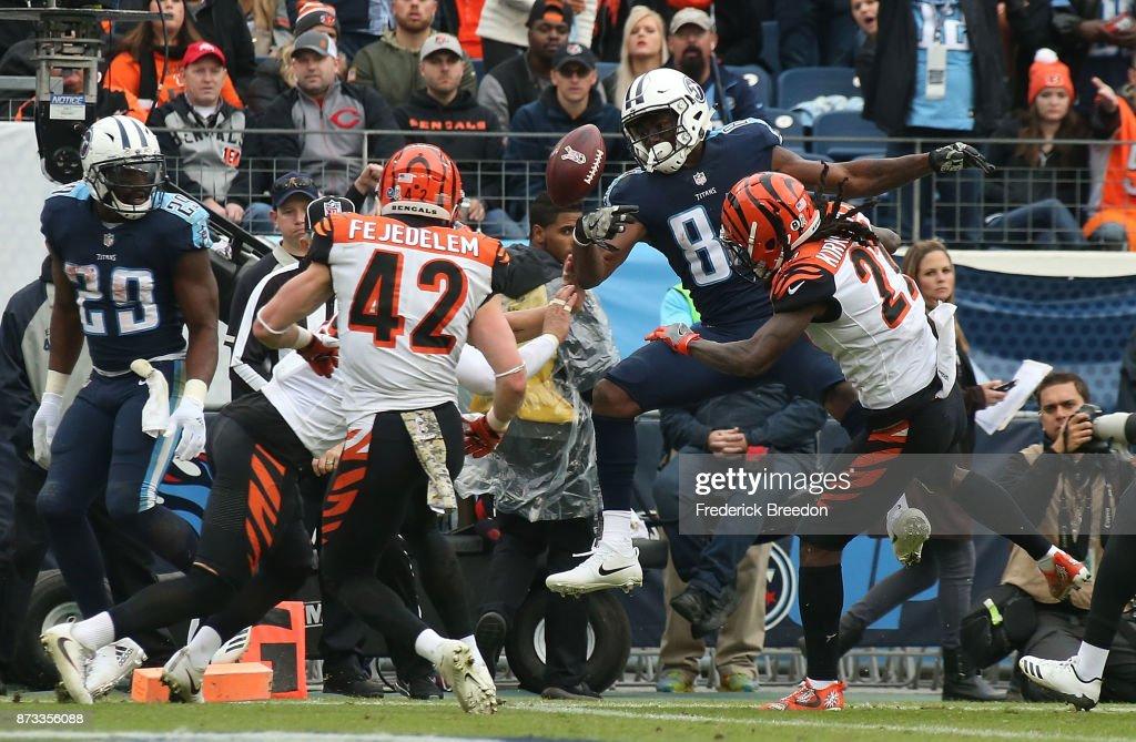 Cincinnati Bengals v Tennessee Titans : News Photo