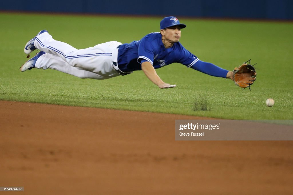 Toronto Blue Jays beat the Tampa Bay Rays 4-1 : News Photo