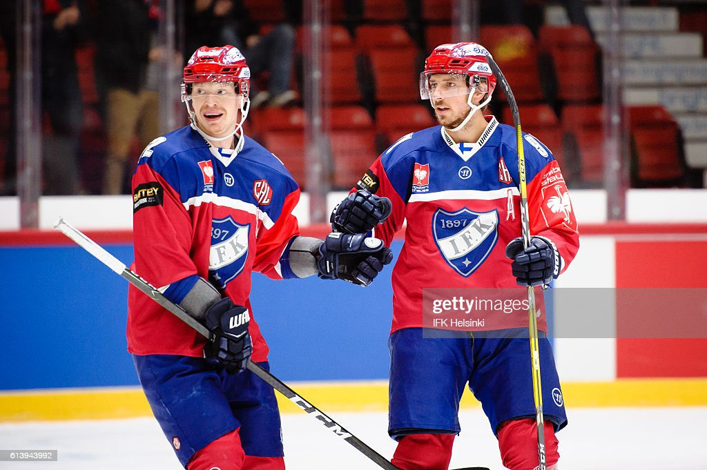IFK Helsinki v TPS Turku - Champions Hockey League : News Photo