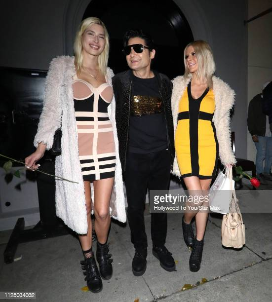 Corey Feldman and Courtney Anne Mitchell are seen on February 14, 2019 in Los Angeles, CA.