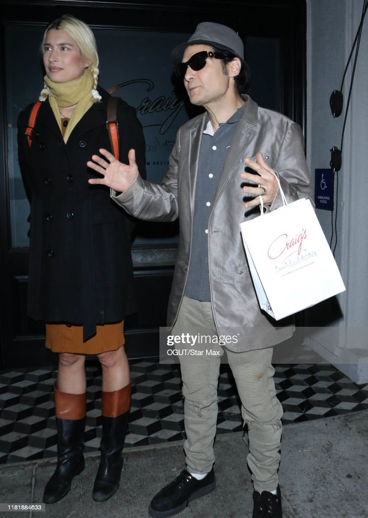 Celebrity Sightings in Los Angeles, California - November 11, 2019 : News Photo