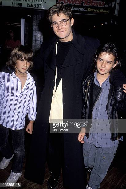 Corey Feldman and Guests during Corey Feldman and Family at Cineplex Odeon Theater - March 30, 1990 at Beverly Center Cineplex Odeion Theater in...