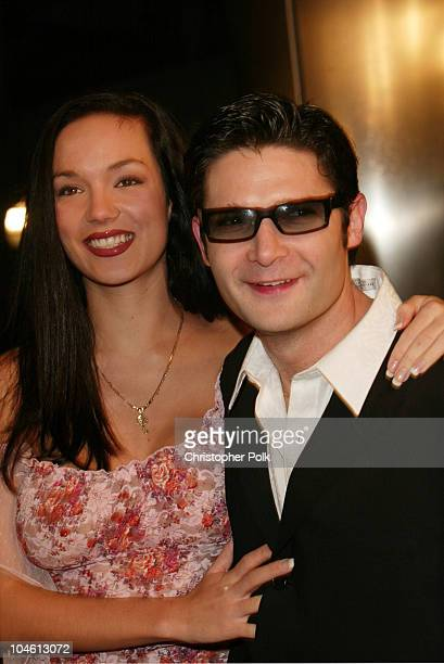 Corey Feldman and his wife Susie during Dark Blue Premiere at Cinerama Dome in Hollywood CA United States