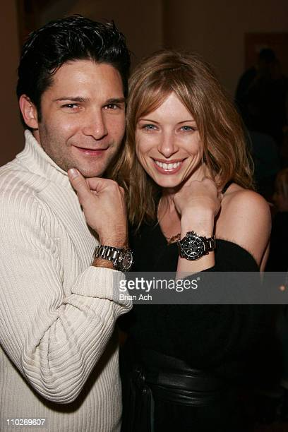 Corey Feldman and Joey Tierny during 2006 Park City Aquanatics Party at The Canyons in Park City Utah United States