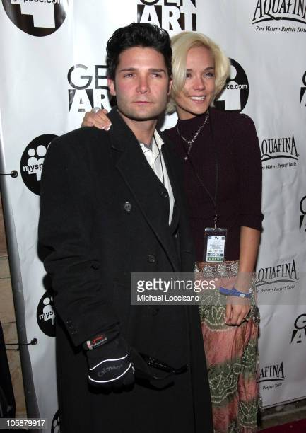 Corey Feldman and Susie Feldman during 2006 Sundance Film Festival Gen Art and MySpacecom Party at Legacy Lodge at the Park City Mountain Resort in...