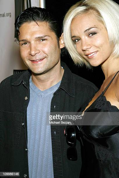 Corey Feldman and Susie Feldman during Dealing Dogs Los Angeles Premiere Benefiting Last Chance for Animals in Los Angeles California United States