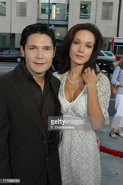 Corey Feldman and Susie Feldman during The Weinstein Company and Lionsgate Films Present the Los Angeles Screening of 'Sicko' at The Academy of...