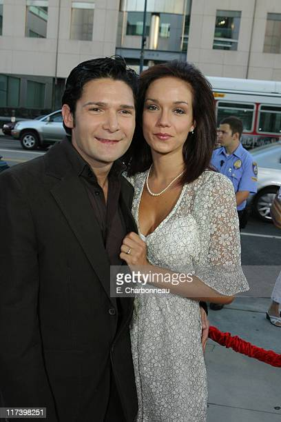 Corey Feldman and Susie Feldman during The Weinstein Company and Lionsgate Films Present the Los Angeles Screening of Sicko at The Academy of Motion...