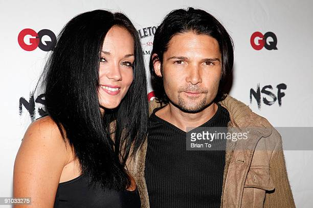 Corey Feldman and wife Susie Feldman attend NSF And GQ Magazine Join Forces To Stop Puppy Mills Humane Society Benefit on September 22 2009 in...
