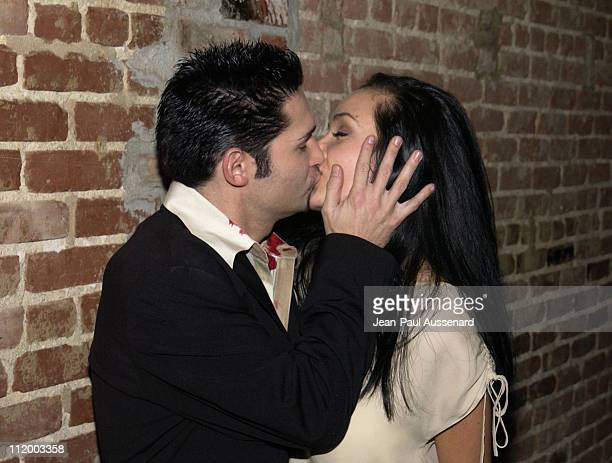Corey Feldman and wife Susie Sprague during The Surreal Life Viewing Party at CineSpace in Hollywood California United States