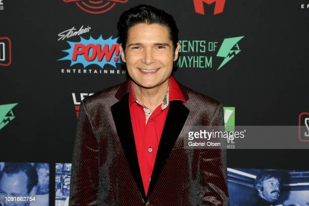 Corey Feldman arrives for Excelsior A Celebration of The Amazing Fantastic Incredible and Uncanny Life Of Stan Lee at TCL Chinese Theatre on January...