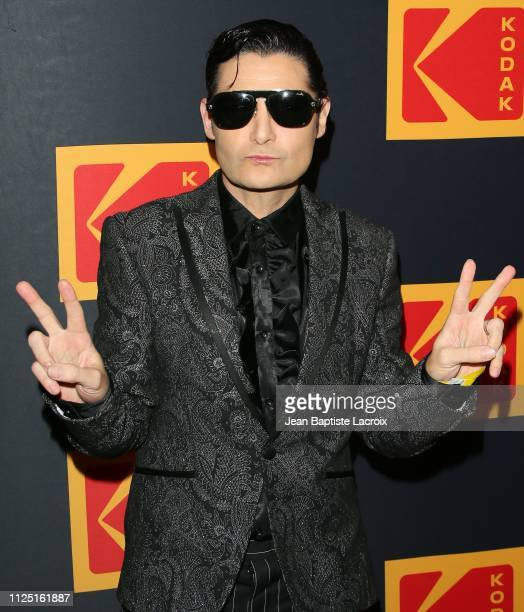 Corey Feldman attends the 3rd annual Kodak Awards at Hudson Loft on February 15 2019 in Los Angeles California