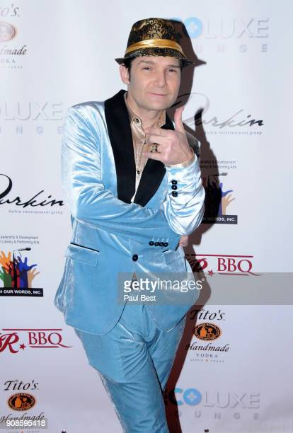 Corey Feldman attends the EcoLuxe Lounge Park City on January 21 2018 in Park City Utah