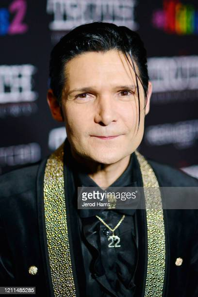 Corey Feldman attends the Premiere of 'My Truth The Rape Of Two Coreys' at Directors Guild Of America on March 09 2020 in Los Angeles California