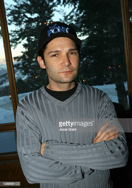 Corey Feldman during 2006 Park City Intuit Media Group Presents Cocktails at the Colony Chateau Day 1 at Colony Chateau in Park City Utah United...