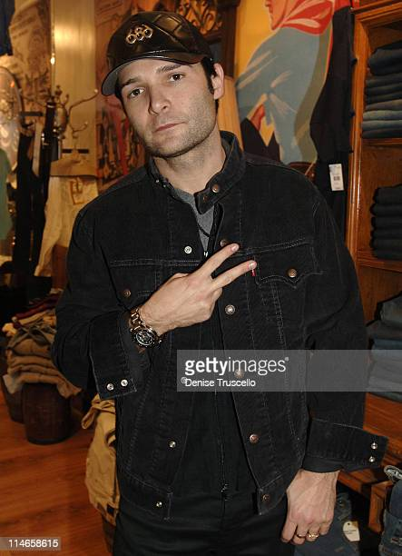 Corey Feldman during 2006 Park City Levi's Dry Goods Day 6 at Main Street in Park City Utah United States