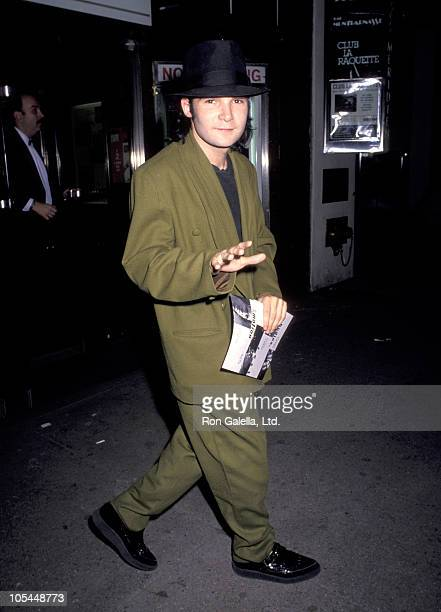Corey Feldman during 'Bodies Rest and Motion' Broadway Opening Night at 57th Street Playhouse in New York City New York United States