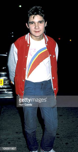 Corey Feldman during Corey Feldman Sighting at Tail o' the Pup in Los Angeles December 6 1986 at Tail o' the Pup in Los Angeles California United...
