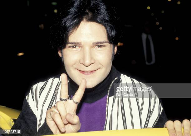Corey Feldman during Pediatric AIDS Benefit Screening of 'Getting Even With Dad' at Plaza Theater in New York City New York United States