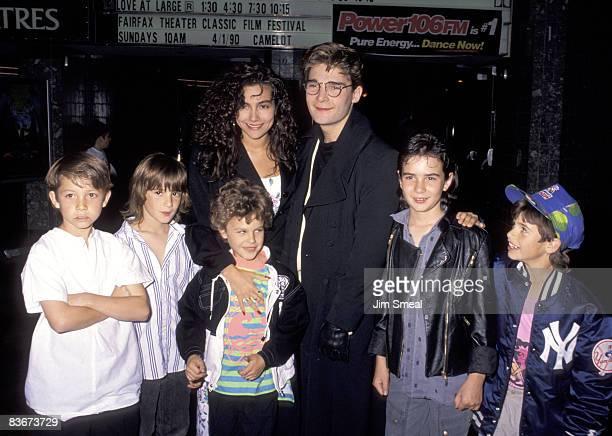Corey Feldman, Fiancee Vanessa Marcil, and Family