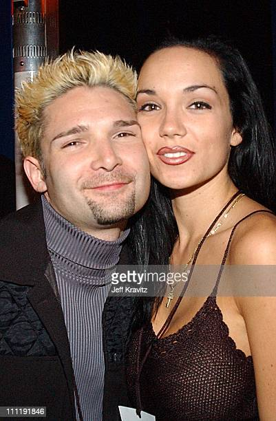 Corey Feldman Susie Sprague during 'Bikini Bandits' Premiere Party at Sunset Room in Hollywood CA